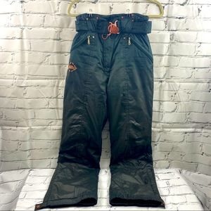 Killy forest green ski pants